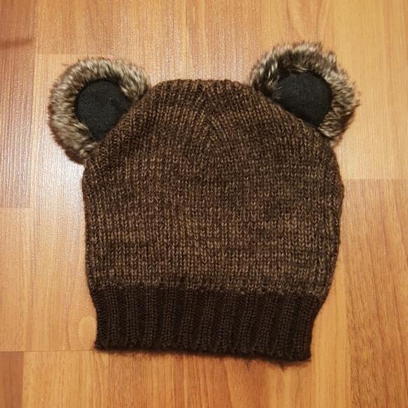Hot Topic Accessories - BEAR EARS BEANIE 89fb3dc697d